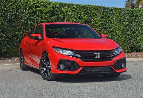 Civic Si Coupe by 2017 Honda Civic Si Coupe Review Test Drive