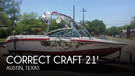 Nautique Boats Austin Tx by Correct Craft Boats For Sale In Texas United States