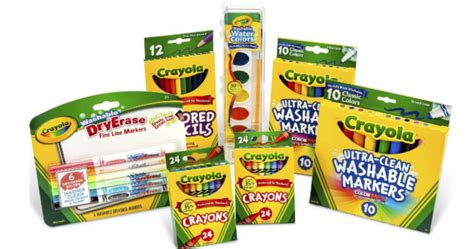 50% Off Crayola Products Today Only (20 Different