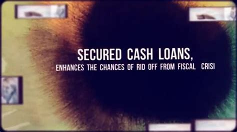 secured loans always carry collateral to support the