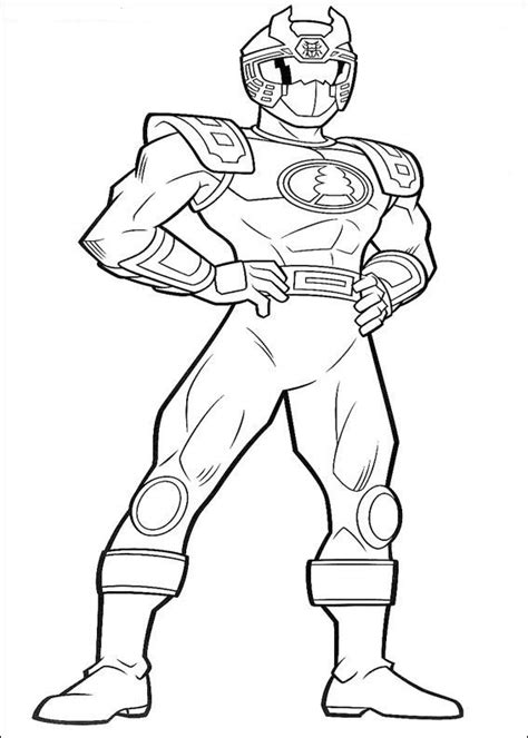 n 111 coloring pages of power rangers