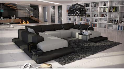 canapé gris simili cuir canapé d 39 angle simili cuir gris clair et noir kherson