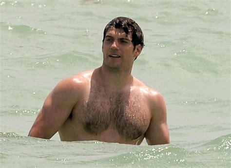 Henry Cavill Goes for a Swim in Miami