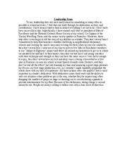essay on leadership and community service executive resume