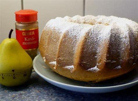 norwegian cardamom cake recipe  cakes  cake