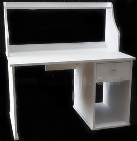 bureau simple blanc montage meubles am nagement 3d free 3d model