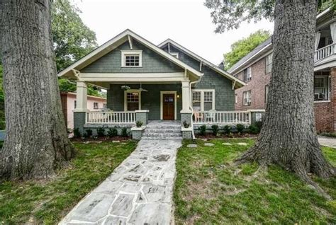 front gabled bungalow  craftsman style details