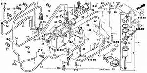 Honda Outboard Parts By Hp  U0026 Serial Range 115hp Oem Parts Diagram For Fuel Pipe