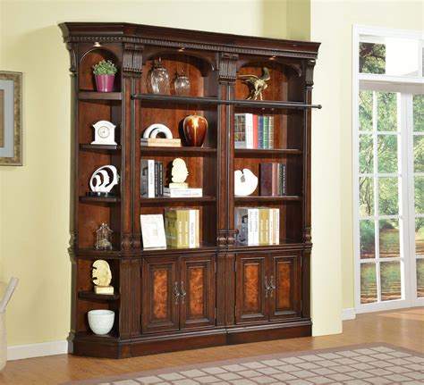 library wall units bookcase parker house corsica library bookcase wall unit ph cor lib