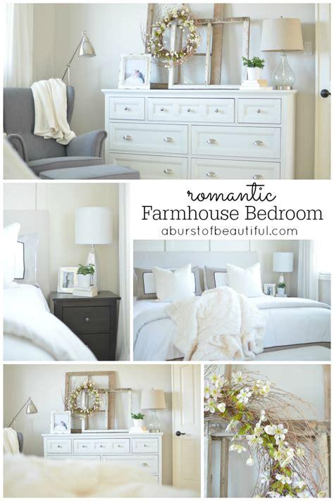 Romantic Farmhouse Bedroom A Burst Of Beautiful