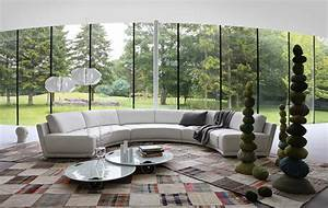 Living room inspiration 120 modern sofas by roche bobois for Sectional sofas 120