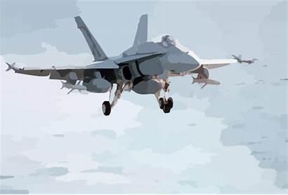 Landing Carrier Approach Final Hornet Clip Clker