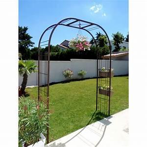 Arche De Jardin En Fer Forgé : arche jardin ~ Premium-room.com Idées de Décoration