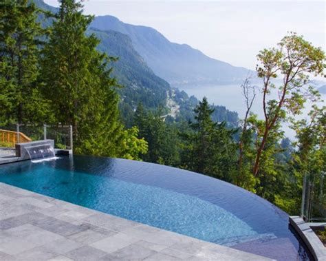 magnificent small infinity swimming pool designs