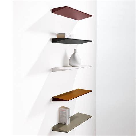 Design Mensole Mensola Design Moderno In Acciaio 60 Cm O 90 Cm Ala