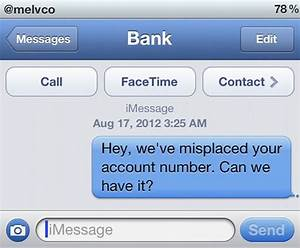 Ios 6 fixes sms spoofing bug according to hacker for Ios 6 sms bug glitch vulnerability