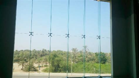 frameless sliding shower door frameless spider glass curtain walls exporter supplier in oman