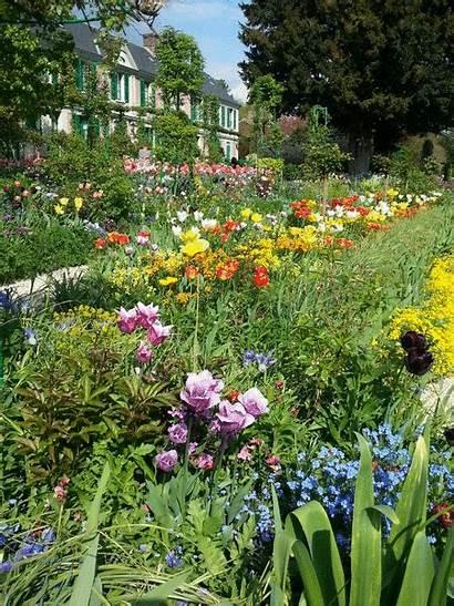 Garden France Spring Monet Gardens Animated Summer