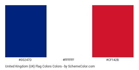 us flag colors united kingdom uk flag colors 187 blue 187 schemecolor