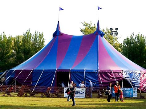 armbruster manufacturing co circus tent for midnight circus
