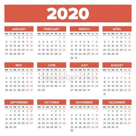 calendario annuale del colori americani le