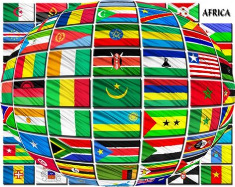 african flags  alphabetical order flags  african