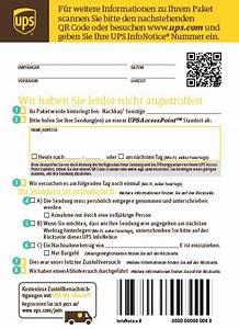 Ups Zustellung Verpasst : ups infonotice ups sterreich ~ Watch28wear.com Haus und Dekorationen