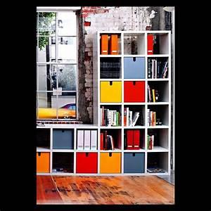 Cube De Rangement : cube de rangement pour biblioth que modulable burom dia ~ Teatrodelosmanantiales.com Idées de Décoration