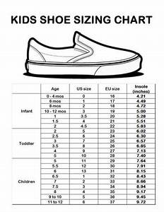 Baby Shoe Size Chart Us European How To Determine The Proper Sock Shoe Size Chart Kids