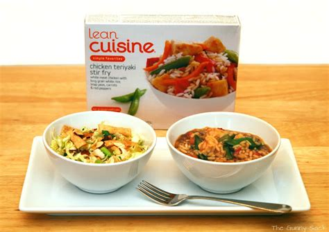 are lean cuisines healthy getting back to healthy the gunny sack