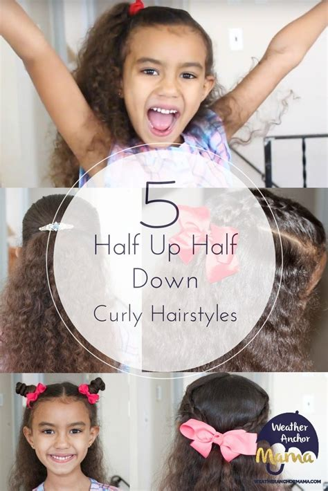 easy     curly hairstyles weather anchor