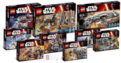 lego wars 2016 les nouveaux sets wars 7 les photos hd et toutes les infos