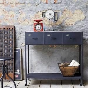 Console Style Industriel : le style industriel par tikamoon ~ Teatrodelosmanantiales.com Idées de Décoration
