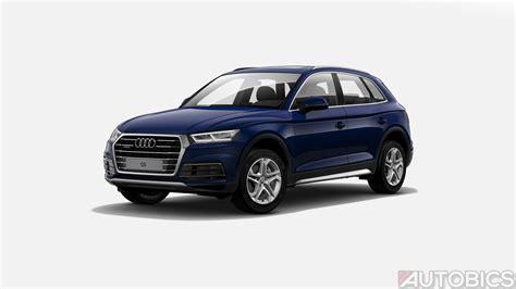 Blue Audi Q5 by Audi Q5 Navarra Blue Metallic 2018 Autobics