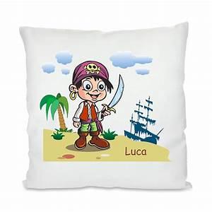 Kissen Für Kinder : kissen f r kinder pirat mit namen geschenkplanet ~ Buech-reservation.com Haus und Dekorationen