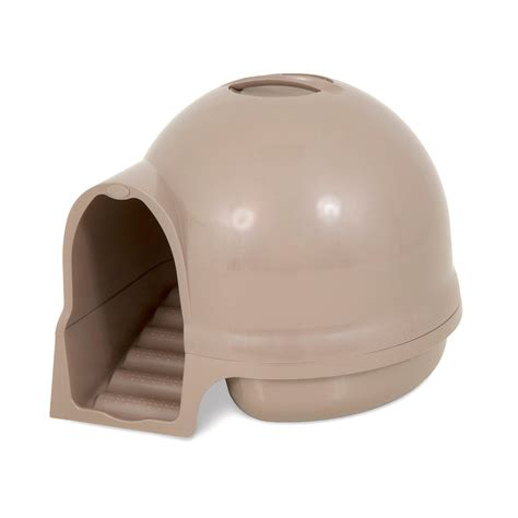 hooded litter box with filter amazon com booda dome cleanstep cat box titanium