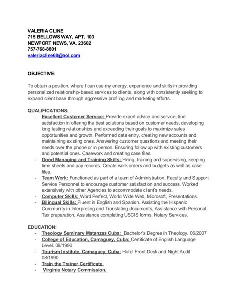 forthcoming publications on resume valeria cline resume
