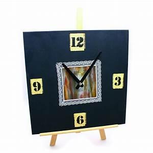 Uhrwerk Zum Basteln : wanduhr holz uhr mit uhrwerk zum selbstgestalten viereckig quadratisch 30x30cm ~ Eleganceandgraceweddings.com Haus und Dekorationen
