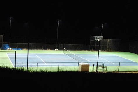 missouri tennis court lighting lighting system kit study