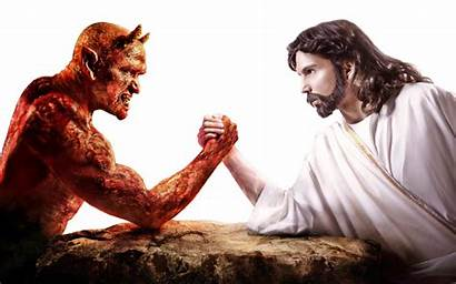 Satan God Proclaimed Lack Atheists Faith Jesus
