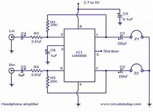 Hifi Headphone Amplifier Circuit