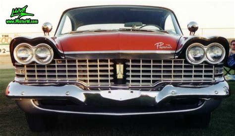 1959 Plymouth Chrome Grill