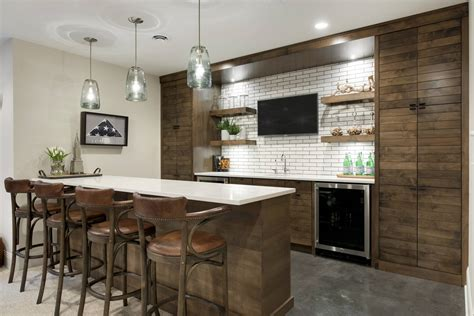 Modern Bar Ideas by 15 Distinguished Rustic Home Bar Designs For When You