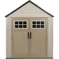 rubbermaid 7x7 storage shed walmart