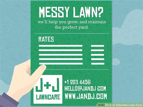 Where To Advertise by 3 Ways To Advertise Lawn Care Wikihow