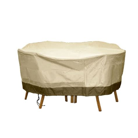 table and chair covers hearth garden polyester deep seating patio chat set
