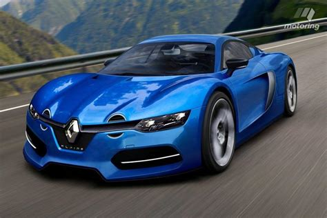 renault alpine could this rendering preview renault s retro inspired