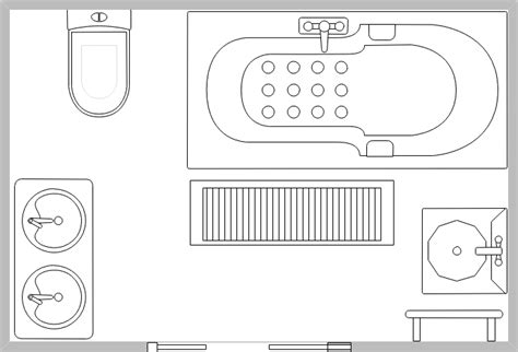 plan amenagement cuisine symboles pour plan de construction cuisine et salle de bains