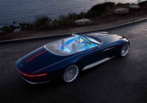 mercedes vision maybach  cabriolet concept  foto