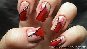 scary nail designs ideas stickers 2013